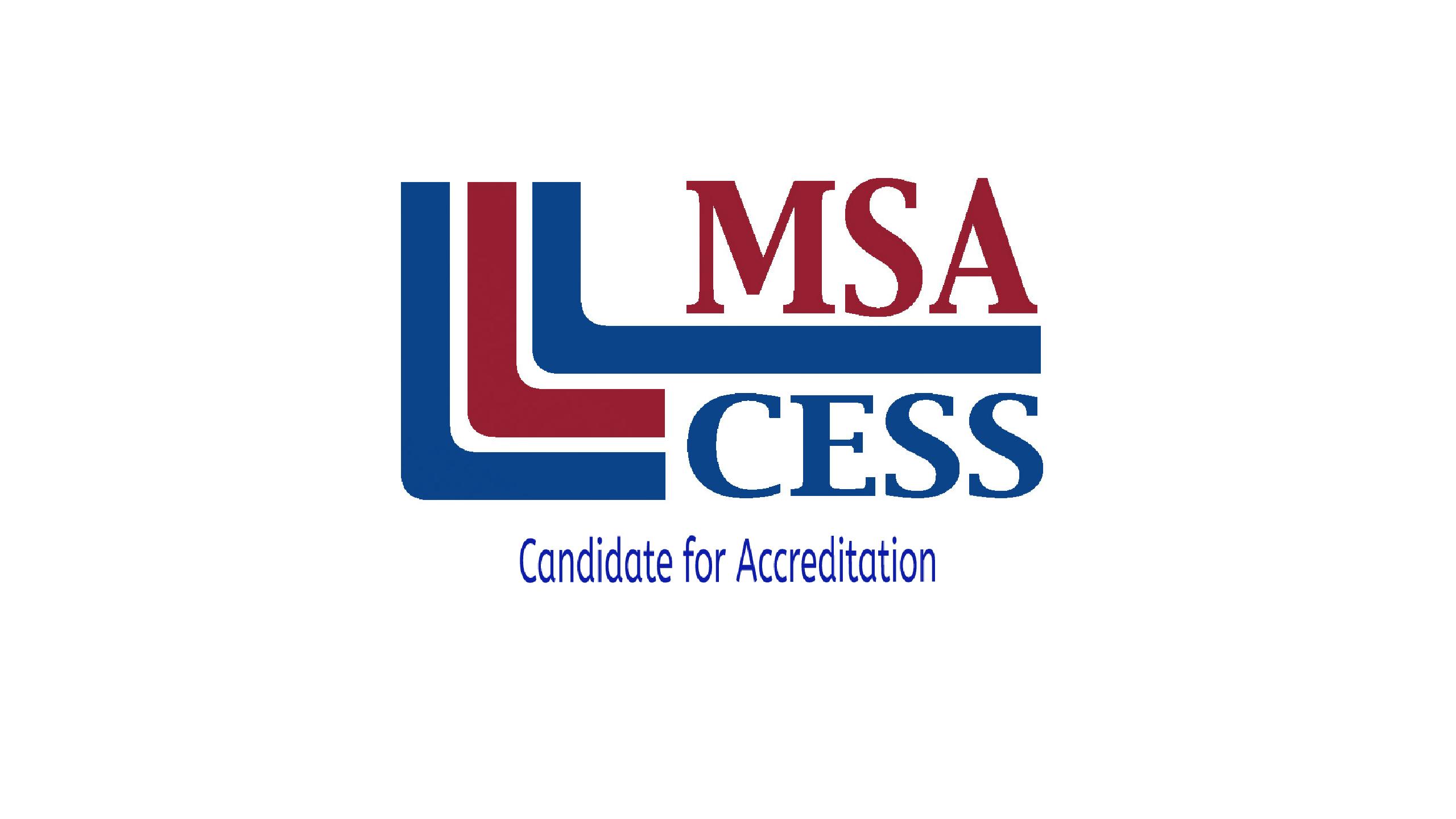 TEECS is pursuing MSA-CESS accreditation!